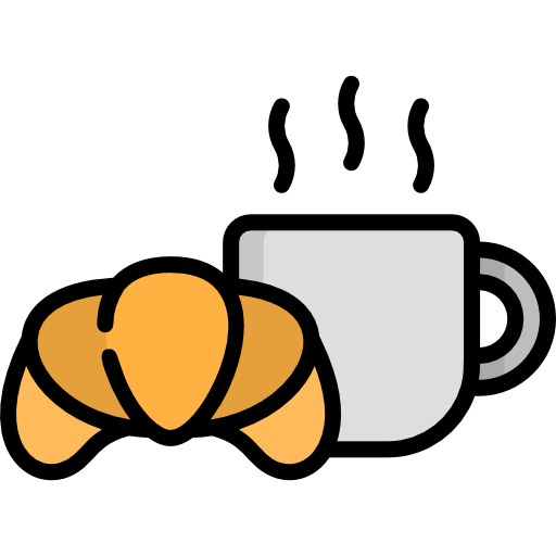 breakfast service icon