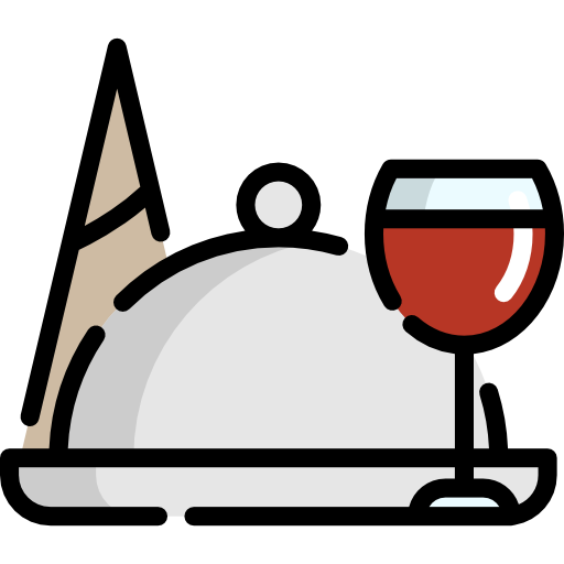 dinner service icon