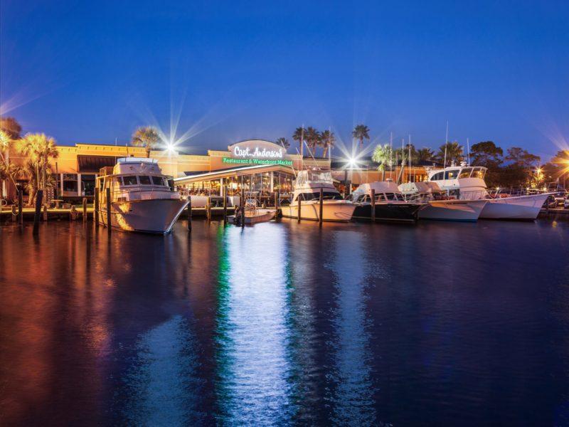 Capt. Anderson's Restaurant & Waterfront Market Panama City Florida