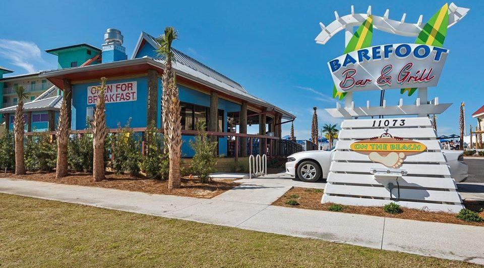 Barefoot On The Beach Bar & Grill Panama City Beach Florida