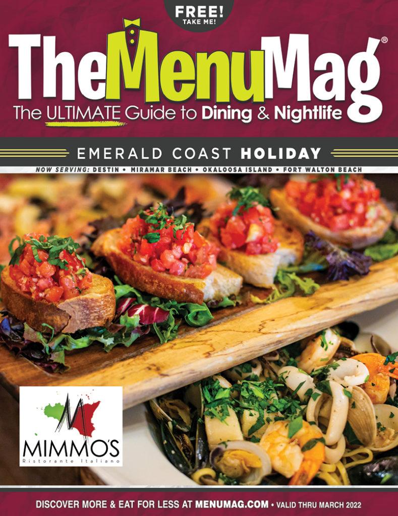 The Menu Mag Emerald Coast Holiday 2021 Edition